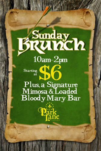 Sunday Brunch Park Lane Tavern Hampton VA